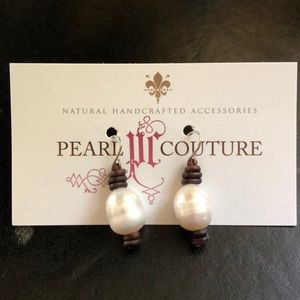 Jewelry - Hand-crafted pearl earrings